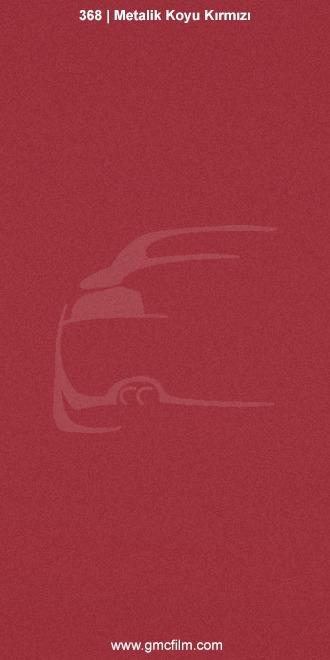 metalik koyu kırmızı mat