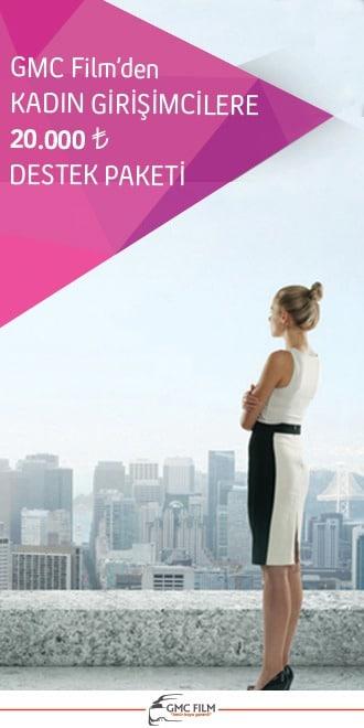 kadın girişimcilere destek paketi