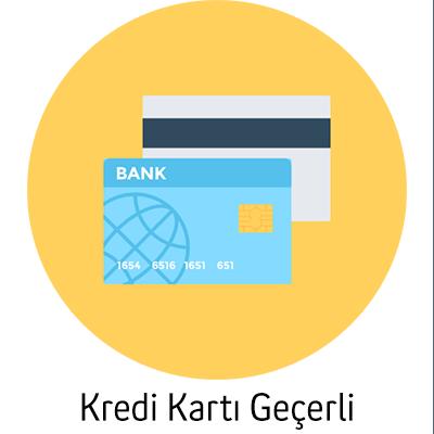 kredi kartı geçerli